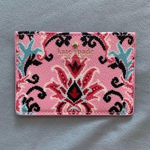 NEW 💕 Kate Spade ♠️ Slim Floral Card Holder
